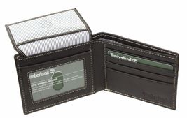 Timberland Men's Genuine Leather Passcase Credit Card Id Billfold Wallet image 12