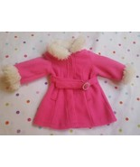 "9"" Pink Coat for American Doll(?) Marked Funrise Toy Corp., pre-owned - $5.86"