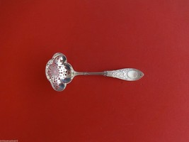 Arabesque by Whiting Sterling Silver Sugar Sifter Ladle Pierced w/Clover... - $389.00
