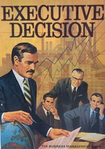 Vintage Executive Decision: The Business Management Game, 1971 3M Co. - $19.99