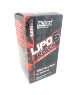 Lipo-6 Black Ultra Concentrate Fat Destroyer 60 Black Caps exp 10/2020 - $14.88