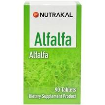 Nutrakal Alfalfa 90 Tabs Dietary Supplement - $55.85