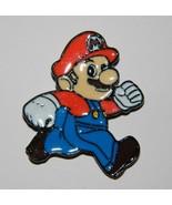 Super Mario Bros. Video Game Mario Figure Metal Enamel Pin NEW UNUSED - $5.94
