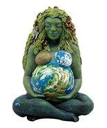 "Ebros Gift Millennial Gaia Earth Mother Goddess Te Fiti Statue 7"" Tall b... - $49.49"