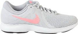 Nike Women's Revolution 4 Running Shoes Sz. 5 to 12 in Gray/Pink - $64.99
