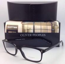 New Oliver Peoples Eyeglasses Denison Ov 5102 1005 53-17 Black Plastic Frames - $299.99