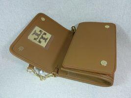 NWT Tory Burch Bark Leather Britten Combo Cross Body bag/Clutch  - $425 image 6