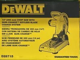 DeWalt D28715 14in Chop Saw - $199.99