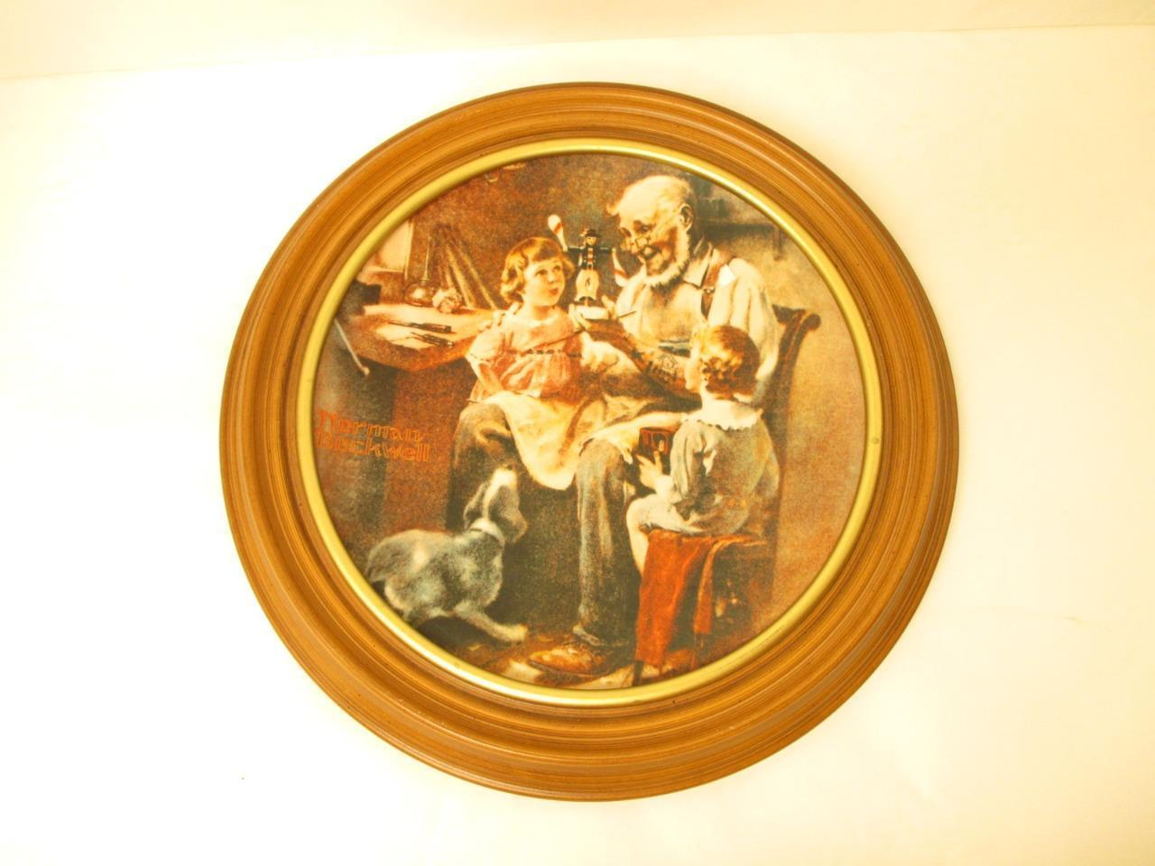 Primary image for Rockwell The Toy Maker Plate  Limited Edition No 6,3875