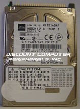 Toshiba MK1214GAP HDD2149 12GB 2.5IN IDE 44pin Drive Tested Good Our Dri... - $14.65