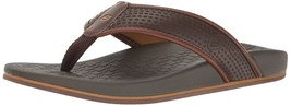 Skechers USA Men's Pelem Emiro Flat Sandal, Chocolate - $63.00