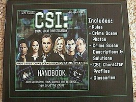 C S I Game Crime Scene Investigation Plus Booster Pack Great Gift Idea Brand New - $14.75