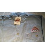 Florida Panthers Long Sleeve Denim Shirt Medium Pocket NHL Hockey Lee Sp... - $16.99