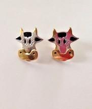 "Cow Earrings 0.75"" L Pierced Jewelry Farm Animal Christmas Birthday Pres... - $18.42"