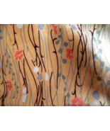 Silk Material Fabric for Sewing Beautiful Design 4 Yards - $55.00