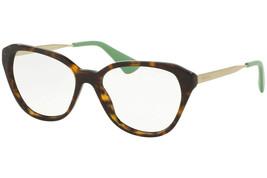 Prada Eyeglasses Frames PR28SV 2AU1O1 54 Havana ? green Optical Frame  - $376.20