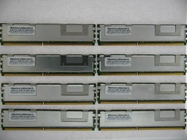 32GB (8x 4GB) PC2-5300F FULLY BUFFERED SERVER RAM FOR DELL POWEREDGE 1950 III