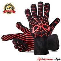 Panshi BBQ Gloves, 932°F Heat Resistant Grilling Oven Glove, Kitchen Coo... - $18.95