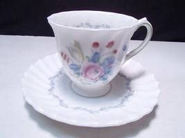 Vintage Royal Doulton Chelsea Rose Demi Cup & Saucer ~~ - $10.99