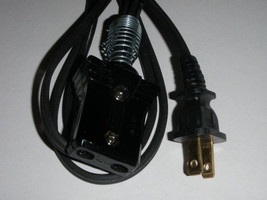 Power Cord for Heatmaster Waffle Iron Model 307-1934 (3/4 2pin)6ft) 1934 - €16,58 EUR