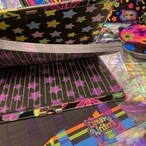 Lisa Frank Dream Writers Lot Ladybug Butterfly Sheets Notebooks Diary With Lock image 3