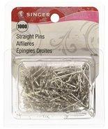 SINGER 01349 Straight Pin, 1000-Pack - $12.73