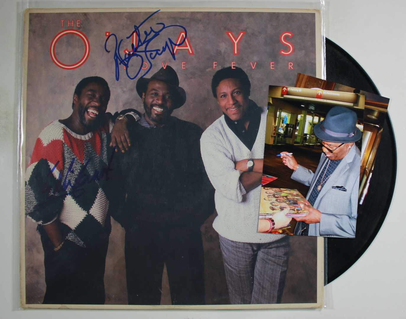 Primary image for Eddie Levert & Walter Williams Signed Autographed ''The O'Jays'' Record Album w/