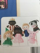 Kwik Sew Pattern 3322 Children Kids Play Toy Puppet Theater Crafts Uncut Pig Dog image 2