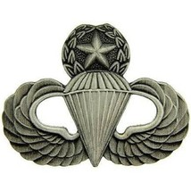US Army Master Paratrooper Pin Pewter 1--1/2'' - $8.90