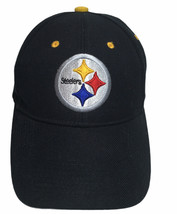PITTSBURGH STEELERS Hat Adult Adjustable OSFA Steelers On Back 20% Wool ... - $26.68
