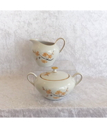 Bareuther Waldsassen Cream and Sugar Set Bavaria Pattern Fine China (Ger... - $44.99