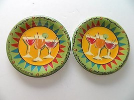 """222 Fifth-PTS International Party Cocktail Luncheon or Party Plates 8"""" T... - $11.87"""
