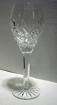 "9 Inch Crystal Water Goblet ""Tradition"" by CESKA, Etched  - $80.00"