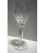 """9 Inch Crystal Water Goblet """"Tradition"""" by CESKA, Etched  - $80.00"""
