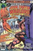 John Carter Warlord of Mars Comic Book Annual #3 Marvel Comics 1979 VERY FINE- - $5.24