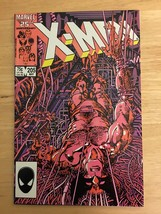Uncanny X-Men 205 VF Condition 1986 Marvel Comic Book Wolverine Cover - $7.19