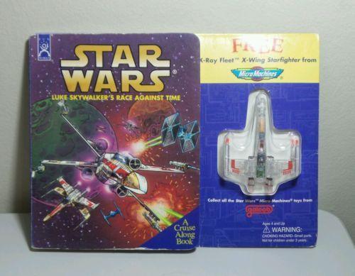 Star Wars Luke Skywalker's Race against time- A Cruise Along Book. Free X - wing