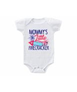 4th Of July Onesie Mommy's Little Firecracker Shirt - $15.00