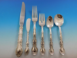 French Scroll by Alvin Sterling Silver Flatware Set Service 36 pieces Di... - $2,150.00