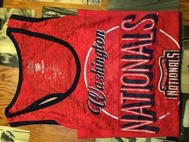 Washington Nationals Red Tank Top - Large - $13.95