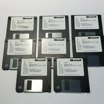 Microsoft Windows for Workgroups Version 3.11 Operating System 8-3.5 Setup Disks - $13.96