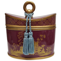 Seda France Classic Toile 2-Wick Candle Ceramic French Tulip 22oz (Purple) - $62.99