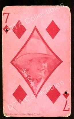 Primary image for BILL CODY-1920-ARCADE CARD FN
