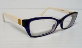 TORY BURCH TY2041 1284 Eyeglasses Frame 51◻15~135 Navy Ivory - $26.00