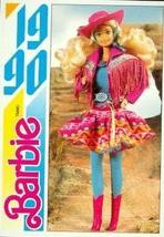 Western Fun Barbie (2) trading card (1990) 1991 Panini Another First for... - $3.00
