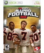 All Pro Football 2K8 - Xbox 360 [video game] - $22.71