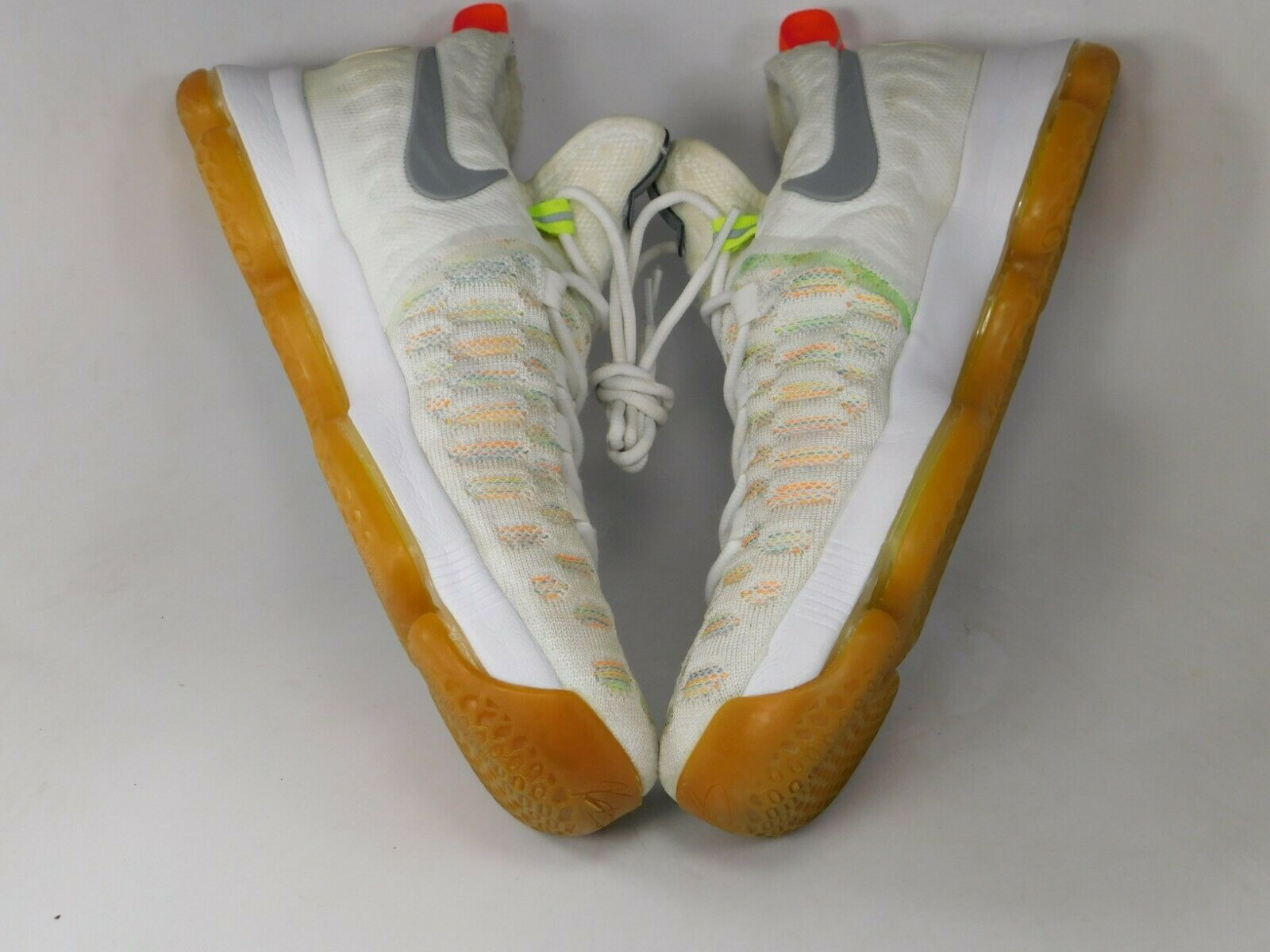 Nike Zoom KD 9 IX Size US 10 M (D) EU 44 Men's Basketball Shoes Multi 843392-900 image 6
