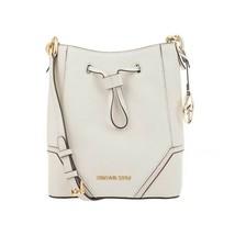 MICHAEL KORS Nicole ❤️ LARGE ❤️Bucket Bag With Gold Hardware (  Vanilla) - $88.83