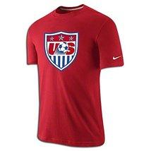 Nike Soccer Replica T-Shirt Usa Core Crest T-Shirt 2015 Xxl - $32.66