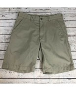 Savane Flat Front Khaki Shorts - Size 32 - $12.60